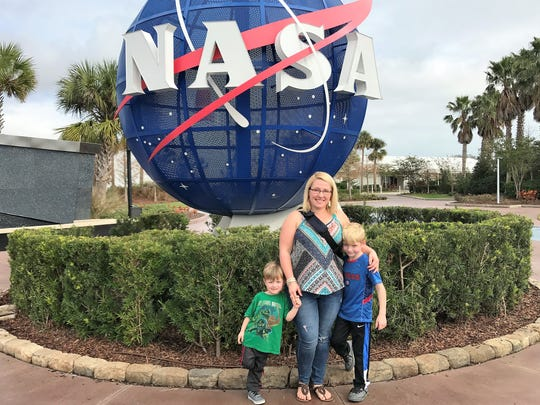 Sara Johnson and her two sons are on a yearlong trip,