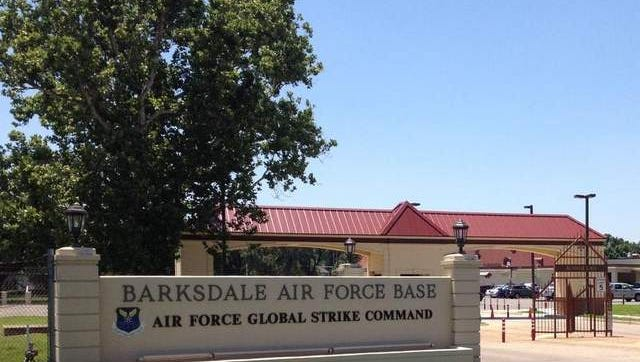 Barksdale Air Force Base.
