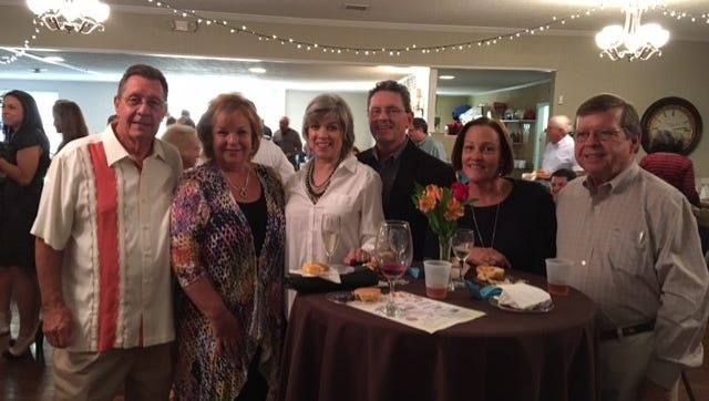 Shown from left are Charles and Debra Romine, Susan and Bob Lee, and Margaret and Dr. Dan McAvoy.