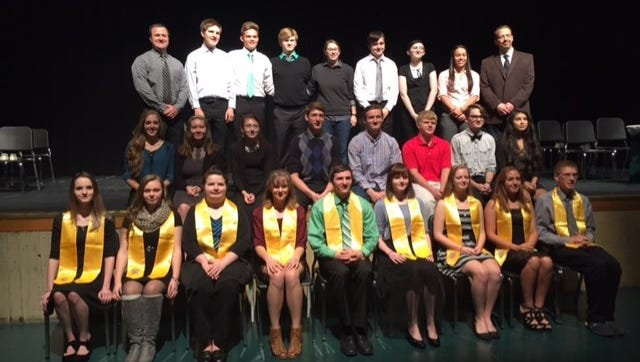 Newfield Honor Society.