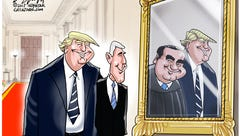 Cartoonist Gary Varvel: Trump chooses Gorsuch
