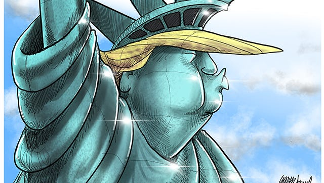 President Trump's executive order on immigration vetting has many seeing a change in liberty.