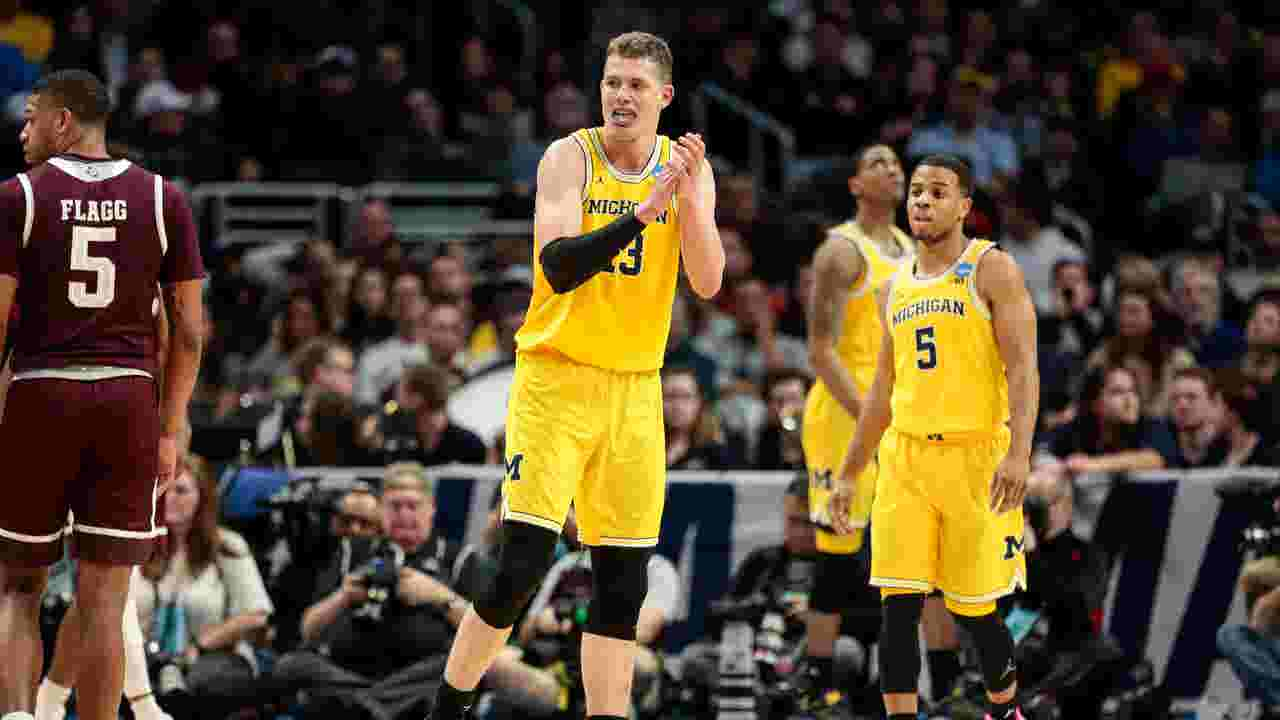 fea28acfaee Final Four: Michigan's Moritz Wagner proving he's one of a kind
