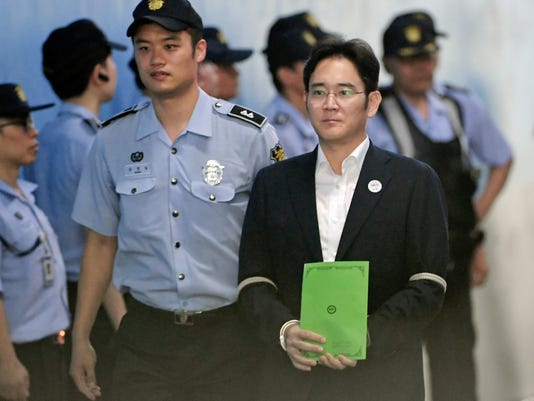 Lee Jae-yong Corruption Trial