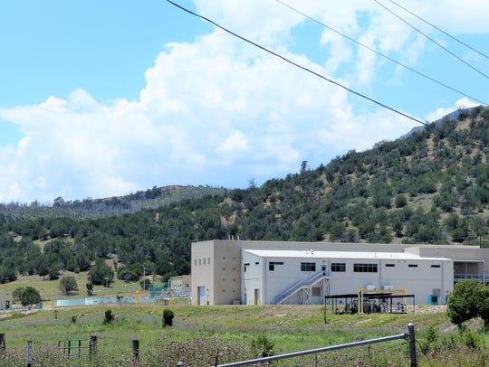 The $32 million regional wastewater treatment plant