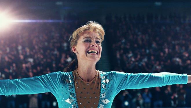 """Margot Robbie gives her all as skater Tonya Harding in """"I, Tonya."""""""