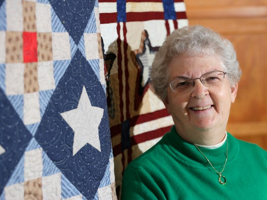 Betty Burns has been quilting for upwards of 26 years
