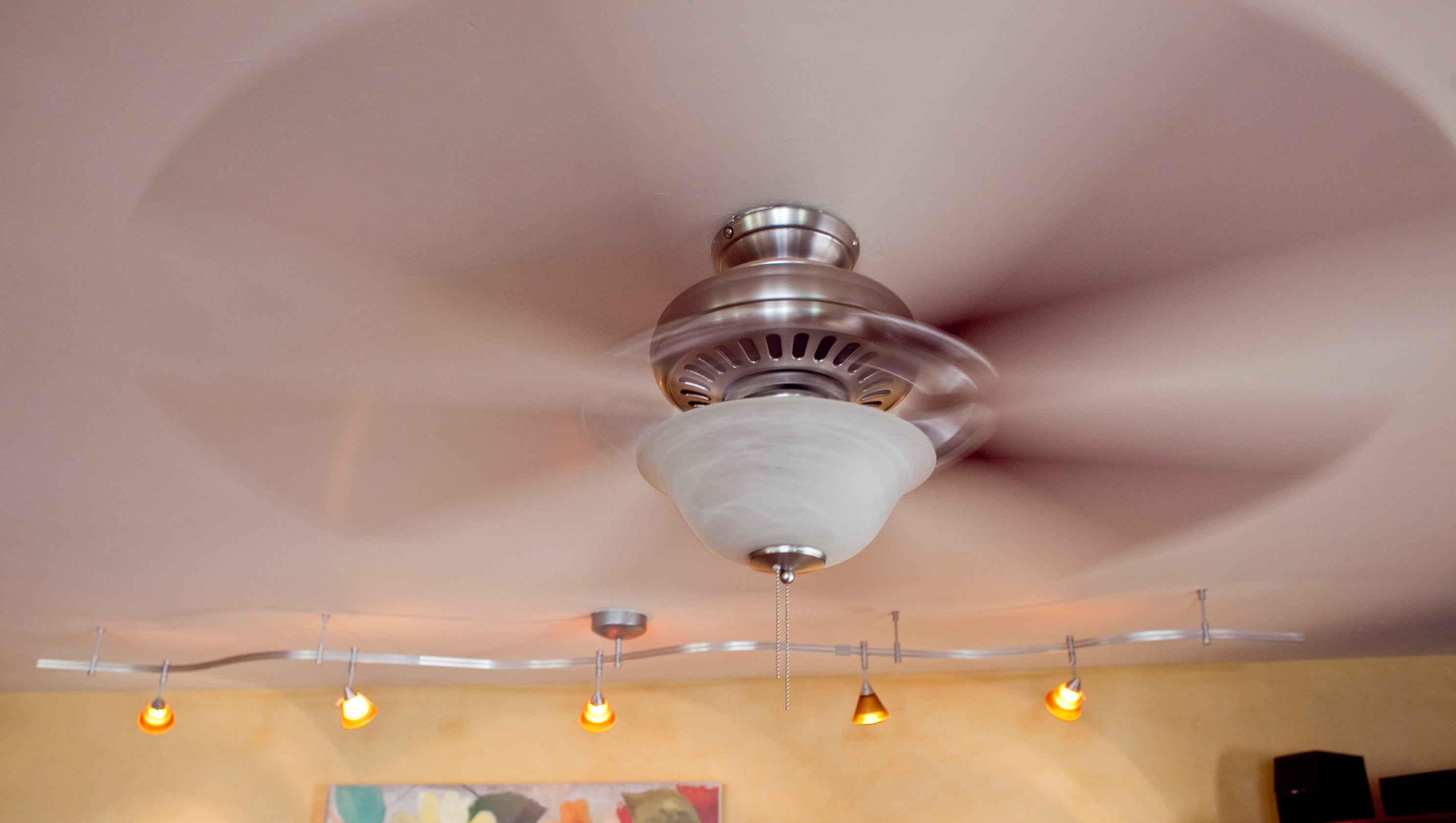 Ceiling fans cool people not rooms other energy tips