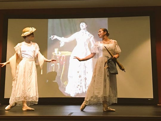 Paintings come to life at Vero Beach Museum of Art thanks to creative interpretations by Ballet Vero Beach dancers.