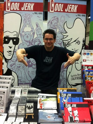 """Paul Horn, a UNR graduate who now draws the """"Cool Jerk"""" comic from his San Diego home, will be at Reno Comic Con this weekend."""