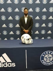Siegel's Freddie Owens, a linebacker and tight end,