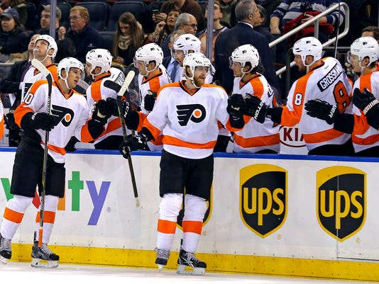 NHL: Philadelphia Flyers at New York Rangers