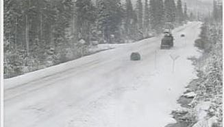 Santiam Pass is expected to get major snow during the coming weekend.