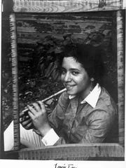"""Shown here in a publicity photo from 1967, Janis Ian first gained fame in the mid-1960s with """"Society's Child,"""" a song about interracial romance. The controversial song was inspired in part by her experiences living in East Orange."""