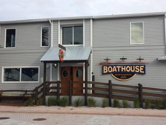 The Stuart Boathouse has a deck that allows patrons