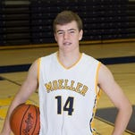 Moeller junior forward Riley Voss was offered by Christian Brothers this morning.