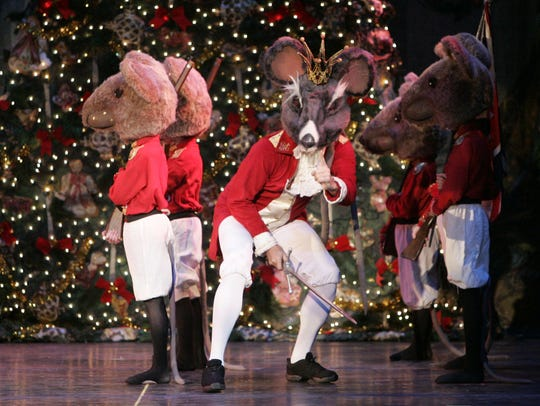 """For a different take on the traditional 'Nutcracker' show head to Paramount Hudson Valley for """"The Colonial Nutcracker"""" on Dec. 23. (Photo: Ricky Flores, Staff TJN)"""