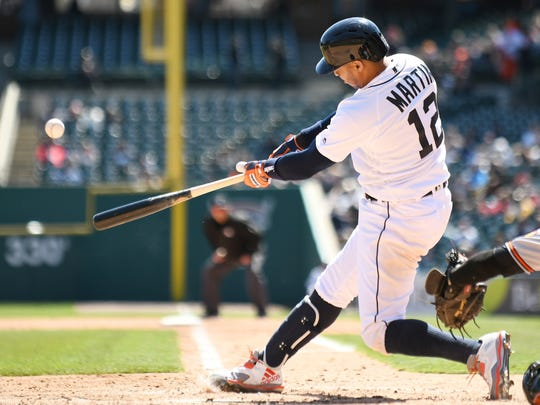Tigers center fielder Leonys Martin has been among the Tigers' most valuable players this season.
