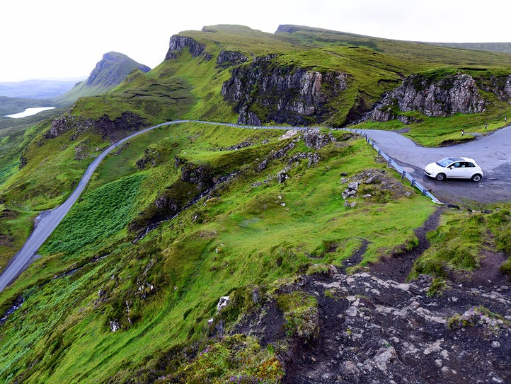 Scotland's sparsely populated Isle of Skye is easiest
