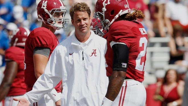 Alabama offensive coordinator and former Tennessee coach Lane Kiffin returns to Neyland Stadium on Saturday.
