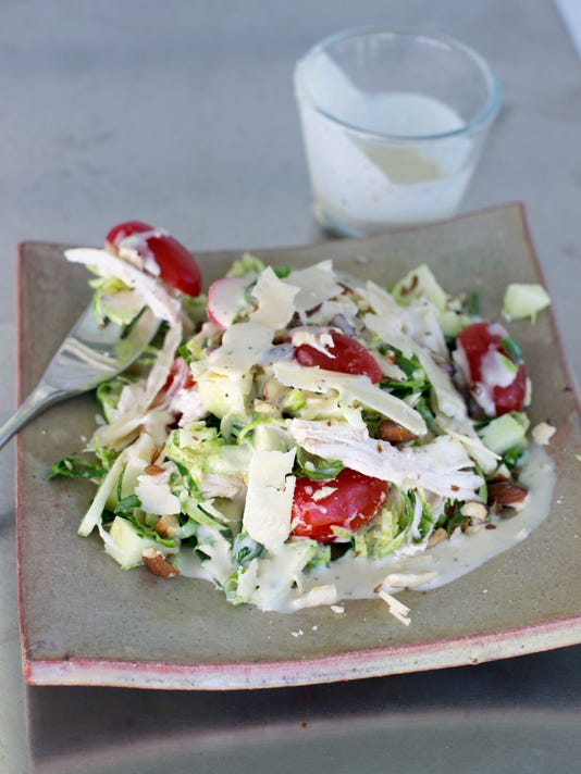 Food Healthy Brussels Sprouts Salad