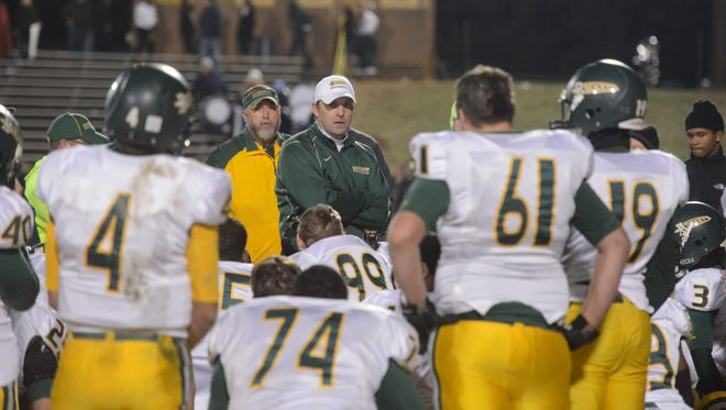 Reynolds made the deepest run of any Buncombe County football team in the 2013 NCHSAA playoffs.