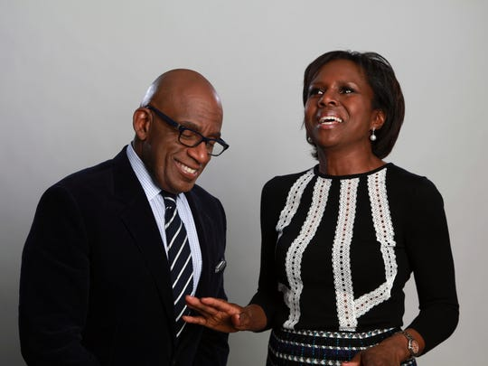 Al Roker and his wife, Deborah Roberts, are co-authors