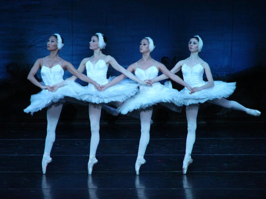 "Russian National Ballet Theatre performs ""Swan Lake"" at Flagstar Strand Theatre for the Performing Arts Monday evening."