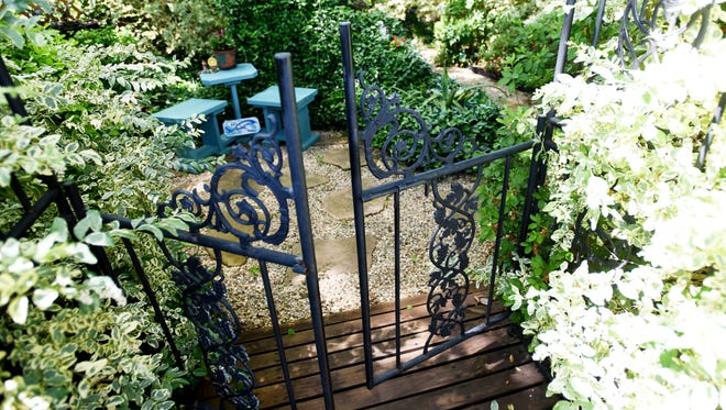 Grace and Robert Poynter's garden will be on the Northwest Louisiana Master Gardeners annual spring garden tour, Le Tour des Jardins on May 7 and 8, 2016.