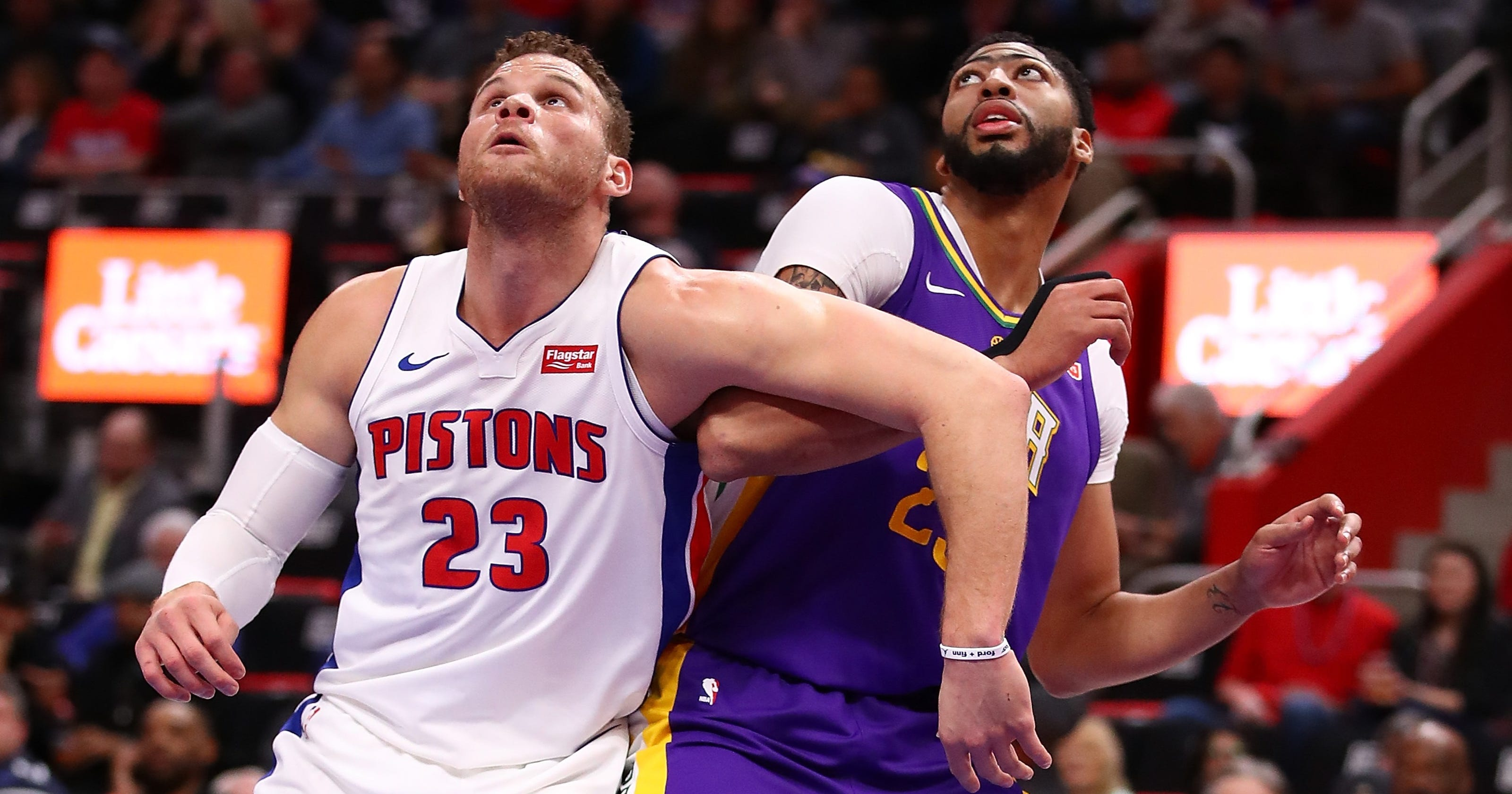Blake Griffin is  home  with the Detroit Pistons. Could that change  3f97cc7fb