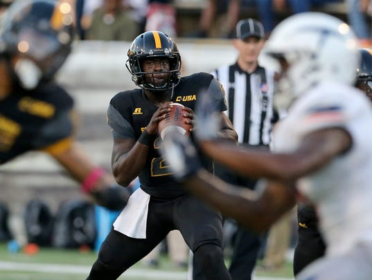 NCAA Football: Texas El Paso at Southern Mississippi