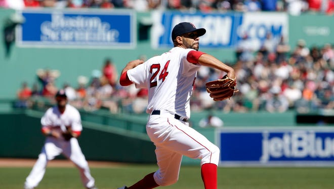 David Price matched his career high with 14 strikeouts.