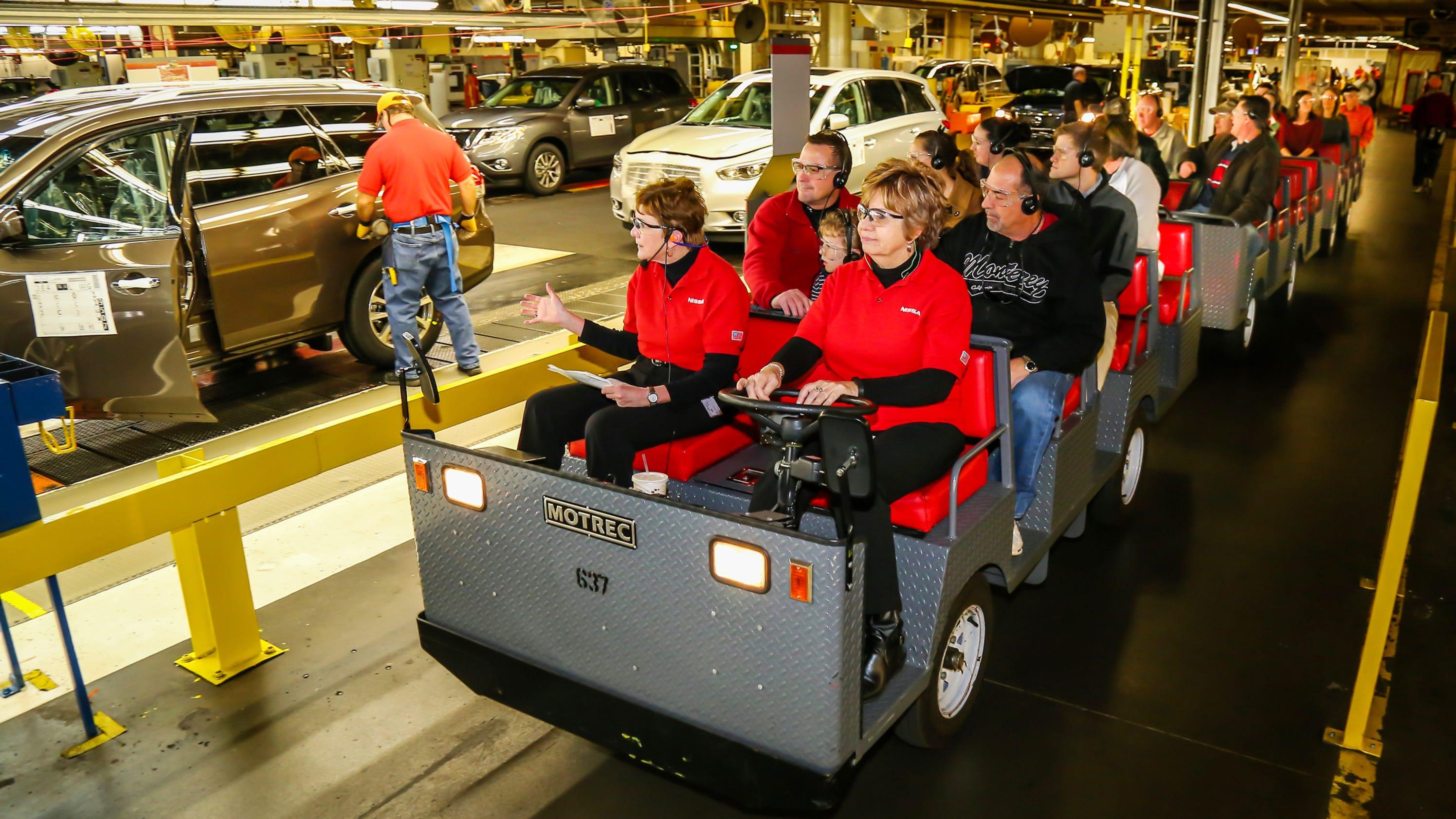 Nissan Smyrna Plant Tour