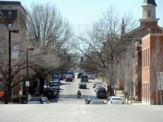 West Philadelphia Street, shown just west of the Codorus Creek, is part of the newly branded Weco neighborhood. (Jason Plotkin - Daily Record/Sunday News)