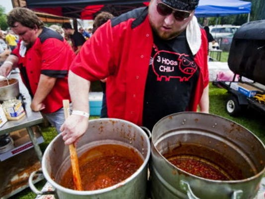 About 30 chili competitors are expected at the 20th Annual Hanover Chili Cook Off, but other food vendors, music and some massive beer trucks will be there as well.