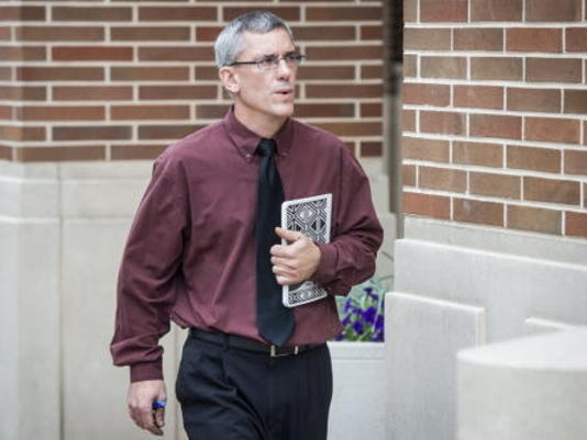 One of Matthew Puterbaugh's victims has filed a suit against the Dover Area School District, LIU, Puterbaugh and the then-superintendent.