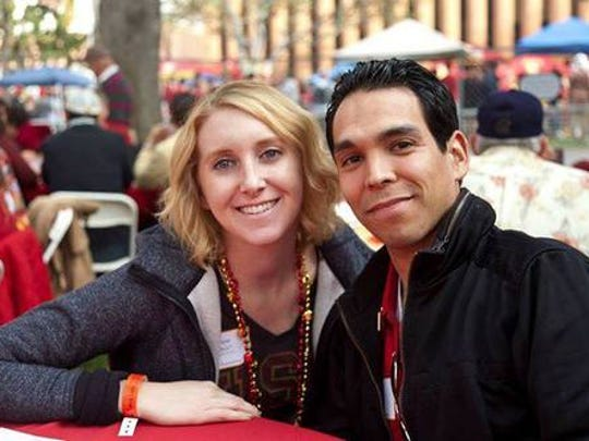 Diane and Omar Meza in an undated photo.