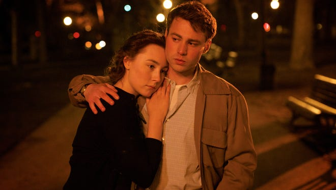 Saoirse Ronan and Emory Cohen star in 'Brooklyn,' which views the immigrant experience through the eyes of a young Irish woman.