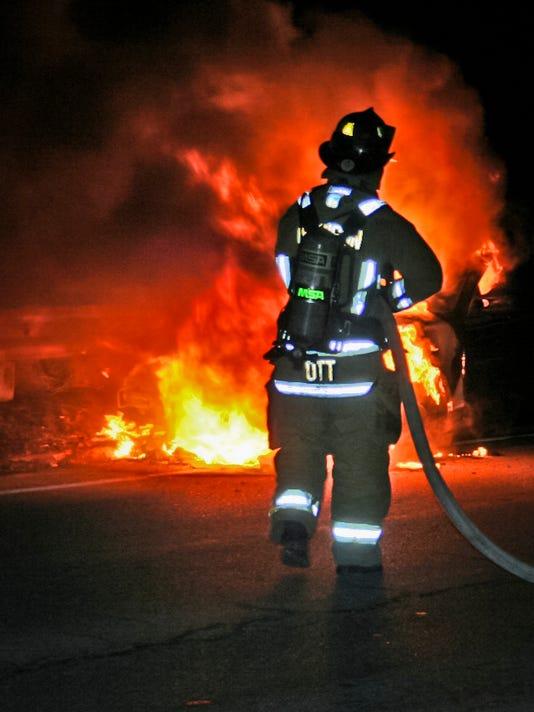 Madison fire stock art