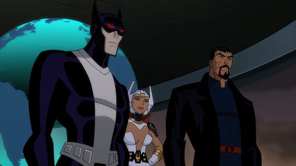 """Batman, Wonder Woman and Superman are reimagined in """"Justice League: Gods and Monsters"""""""