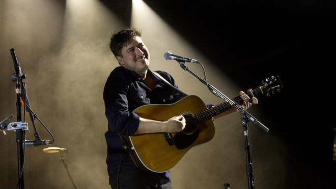 Mumford & Sons energized the crowd Saturday night at the Gentlemen of the Road Stopover music festival in Seaside Heights. Thirty-thousand people were expected to flow onto the boardwalk and beach for the headline act.