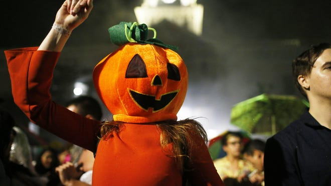 Athens celebrated Halloween with its annual Wild Rumpus Parade in October 2017.