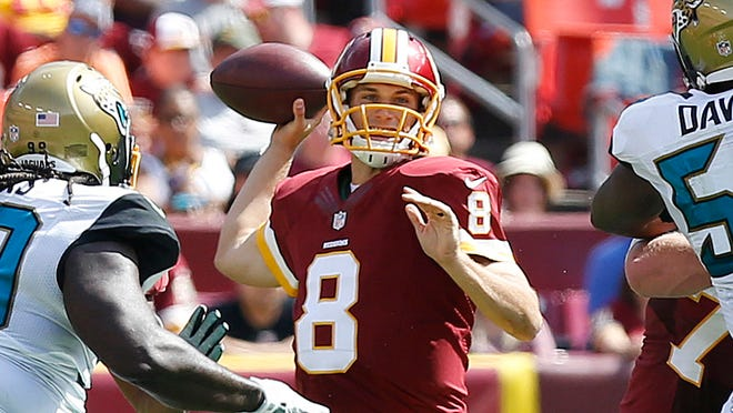 Kirk Cousins threw for 250 yards and two TDs in place of the injured Robert Griffin III.