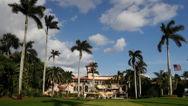Mar-a-Lago is President Trump's private club in Palm Beach, Fla.