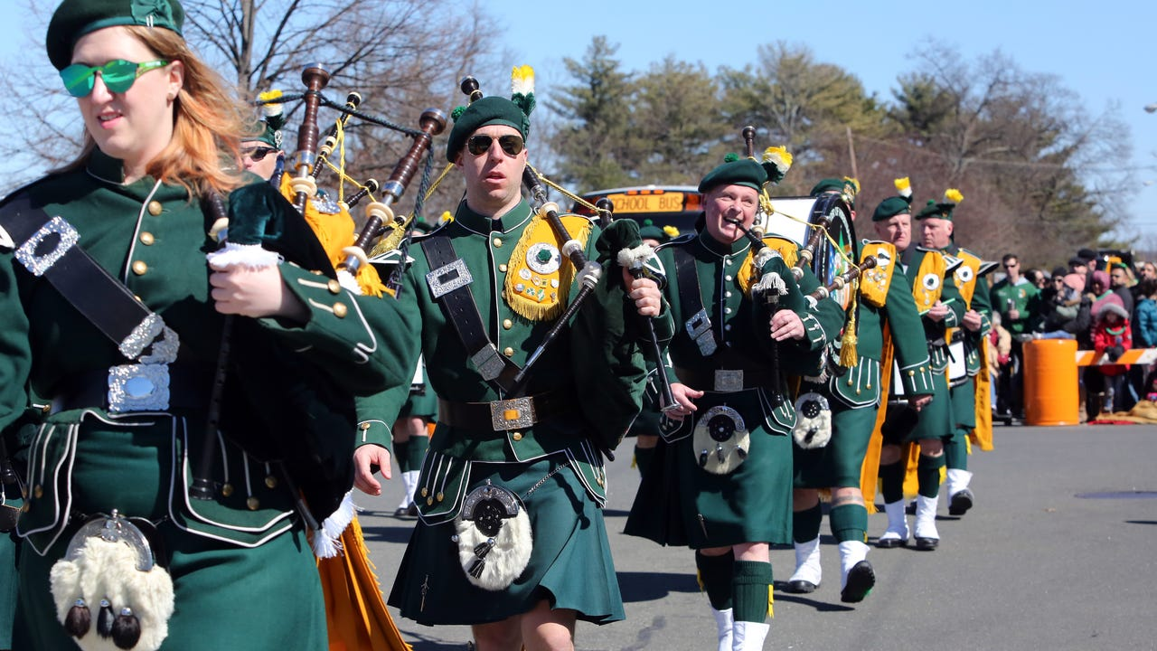 Scenes from the 56th annual Rockland County St. Patrick's Day Parade in Pearl River March 18, 2018.