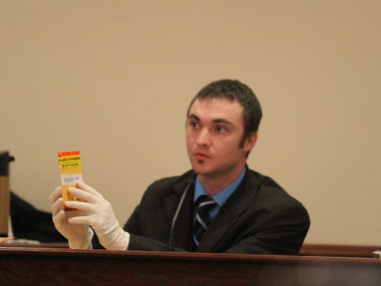 Derek Proctor, TBI agent, testified about the DNA he
