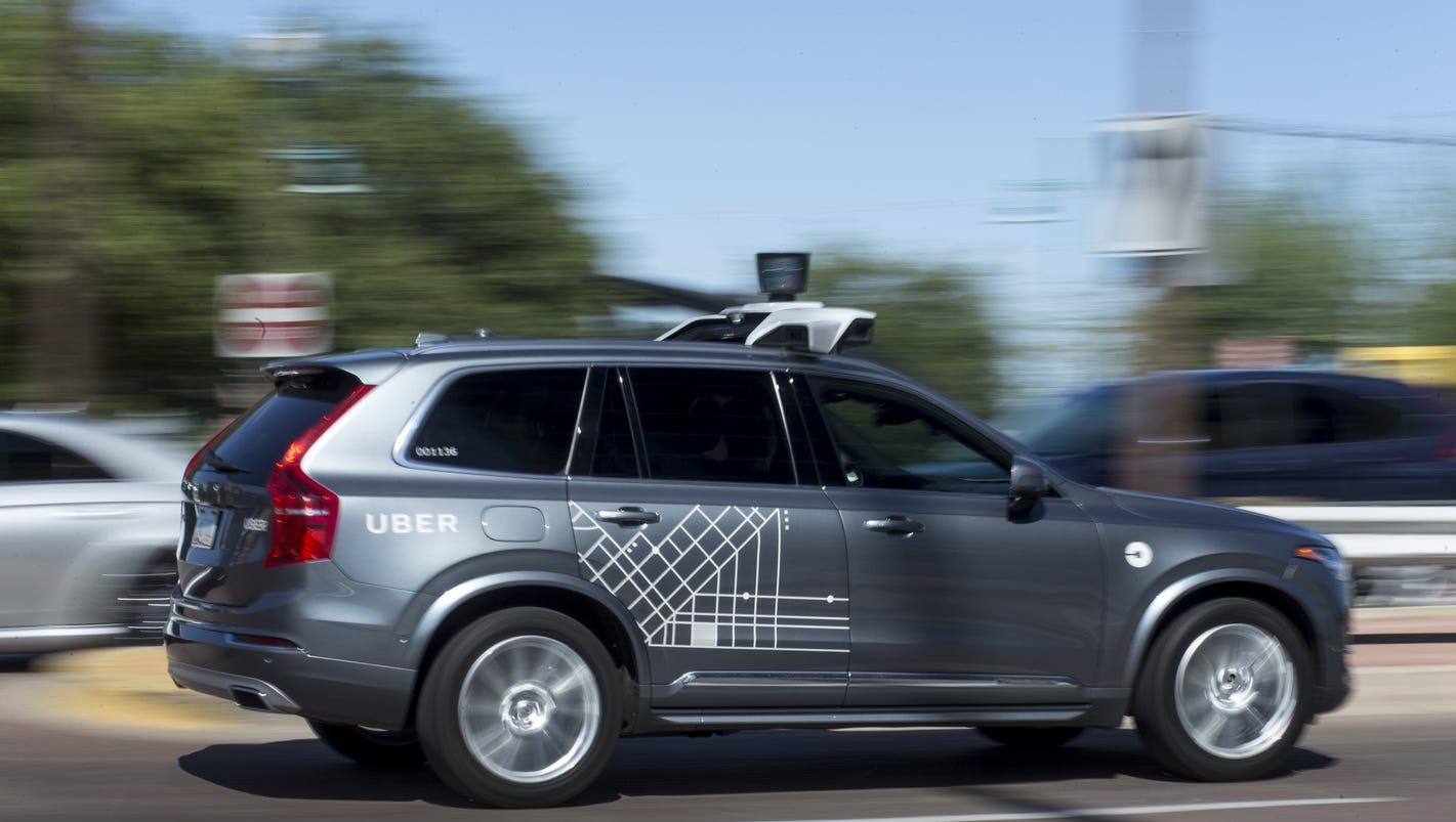 Arizona halts Uber self-driving car tests after fatal crash