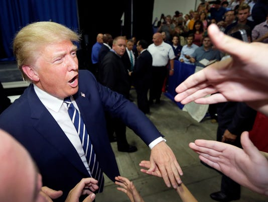 AP GOP 2016 TRUMP A ELN USA MI