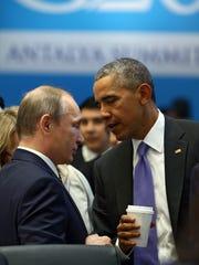President Barack Obama and Russian President Vladimir