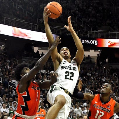 Miles Bridges and Michigan State are making a bid for